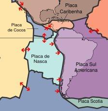Plaques tectoniques du Pérou