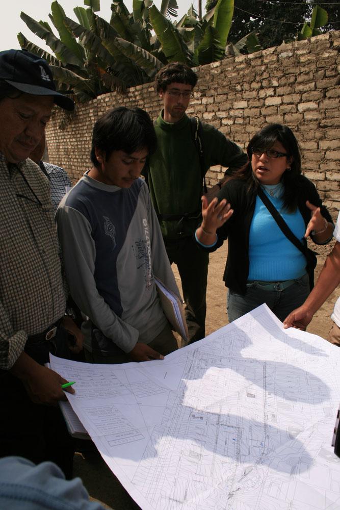 Discussion sur le réseau de drainage.