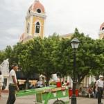 Place centrale de Granada