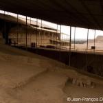 Vue des différents étages de la Huaca de la Luna.