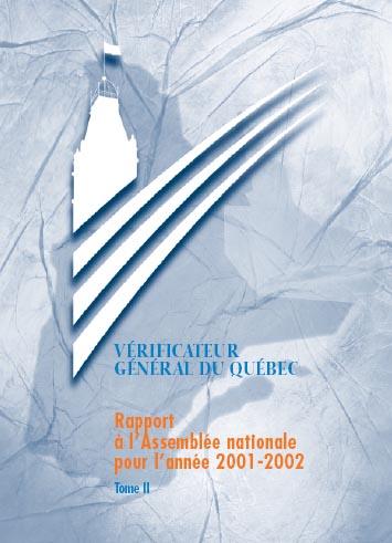Rapport du Vérificateur général du Québec