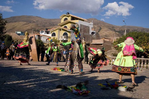 Danse antique à Huancayo