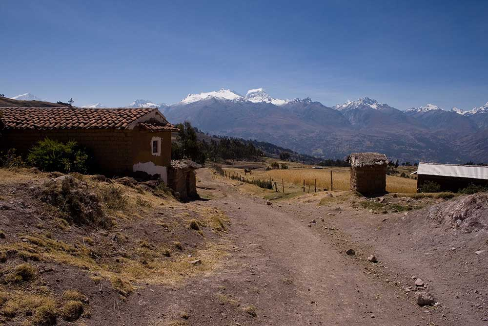 Huaraz, cœur andin de la sierra