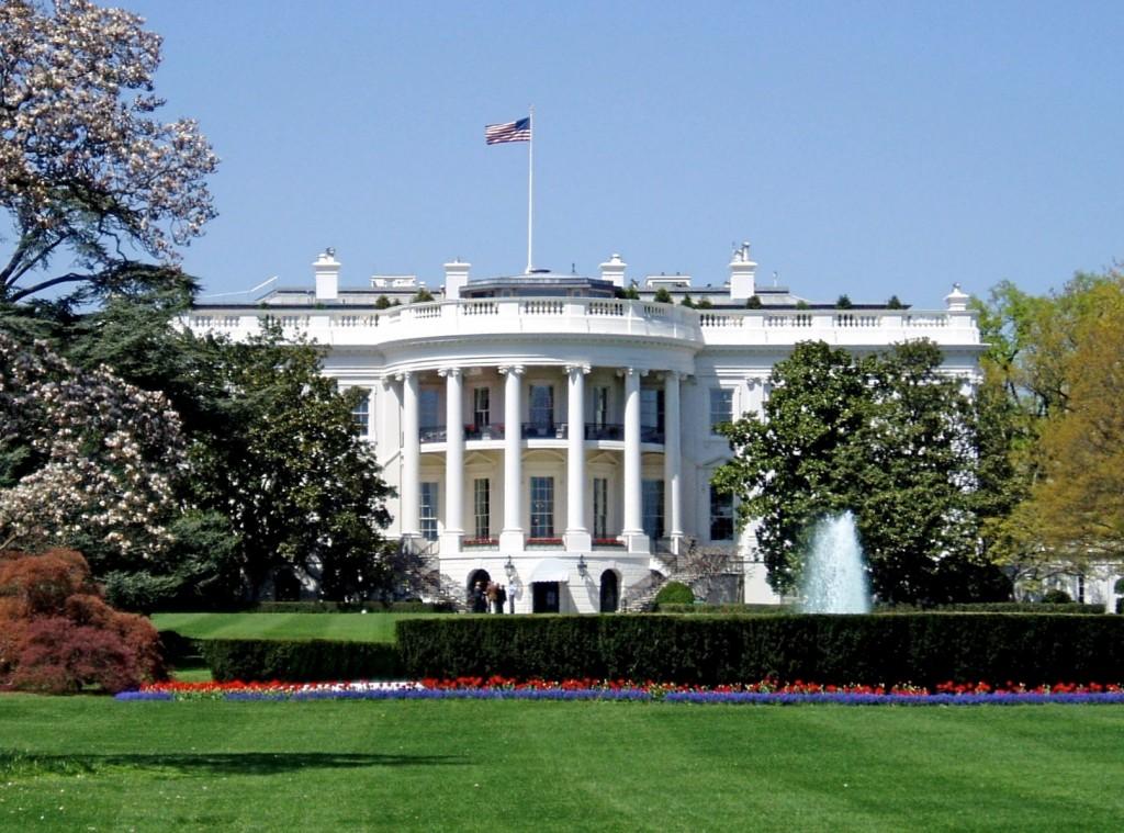 La Maison Blanche, à Washington (Source: Wikipédia)