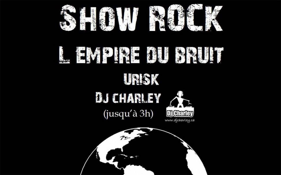 Show rock de financement pour le projet au Pérou en environnement.