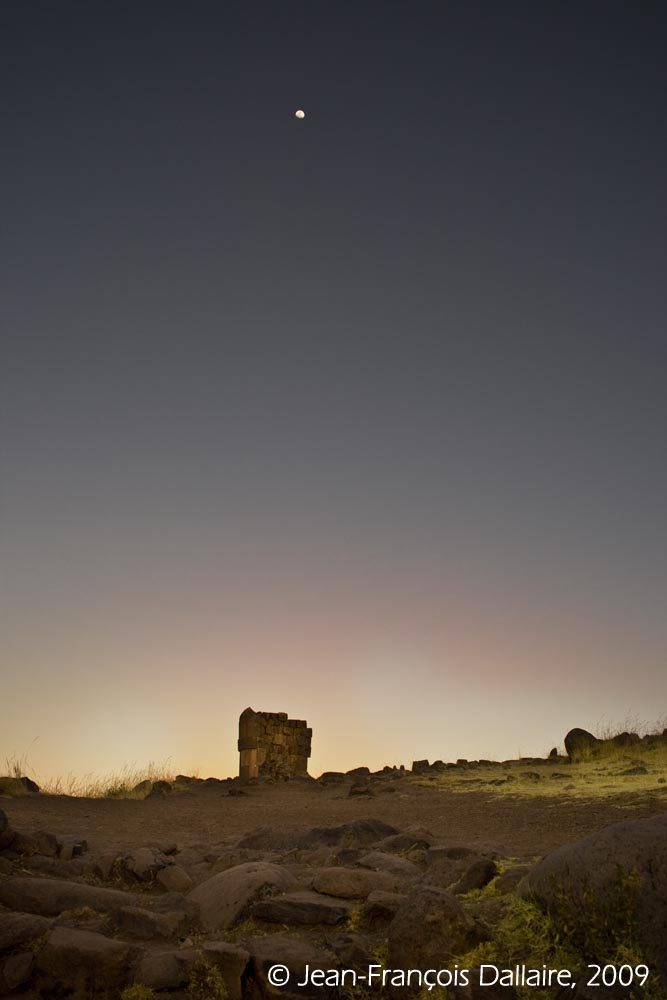 Chullpa du site de Sillustani, près de Puno.