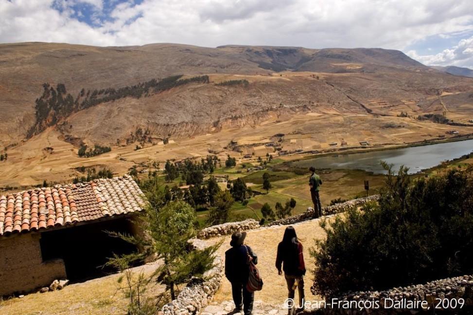 La vallée du Mantaro, où coule la rivière du même nom, est l'une des sources de l'Amazone.
