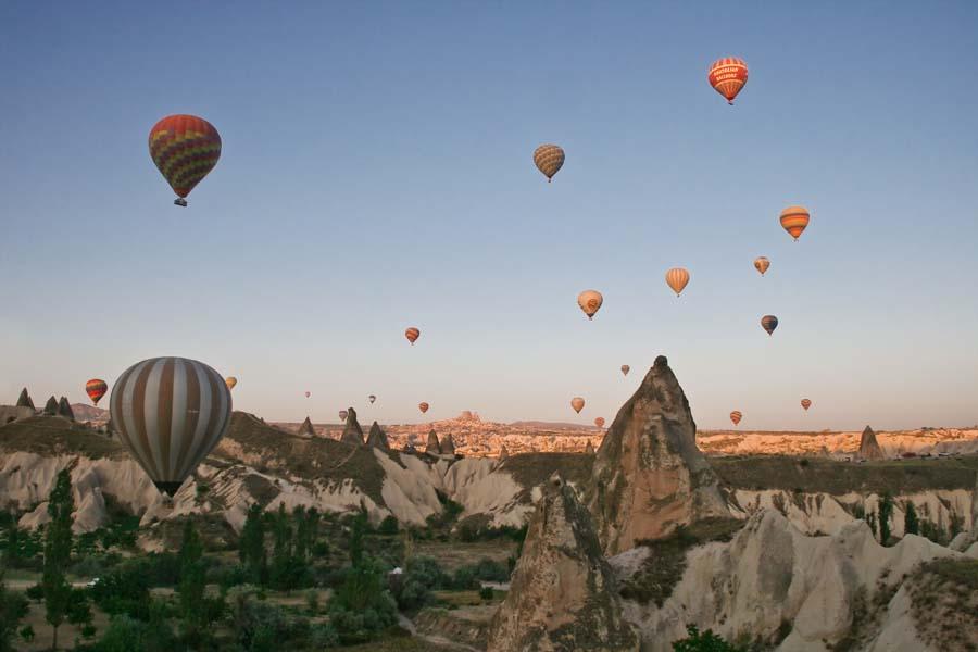 Turquie - Goreme en Cappadoce - Mongolfières