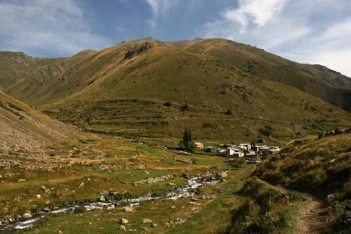 Turquie - Mont Kackar - village de Yusufeli
