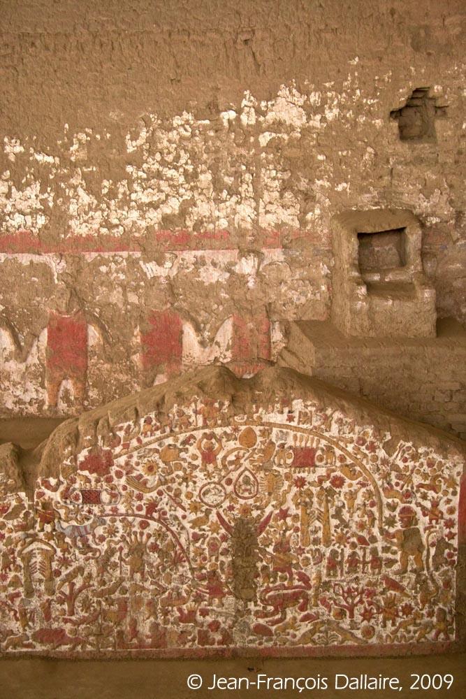 L'une des nombreuses fresques par lesquelles les archéologues décodent les mythes du passé.